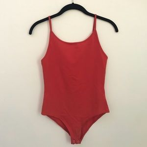 High neckline body suit, size small